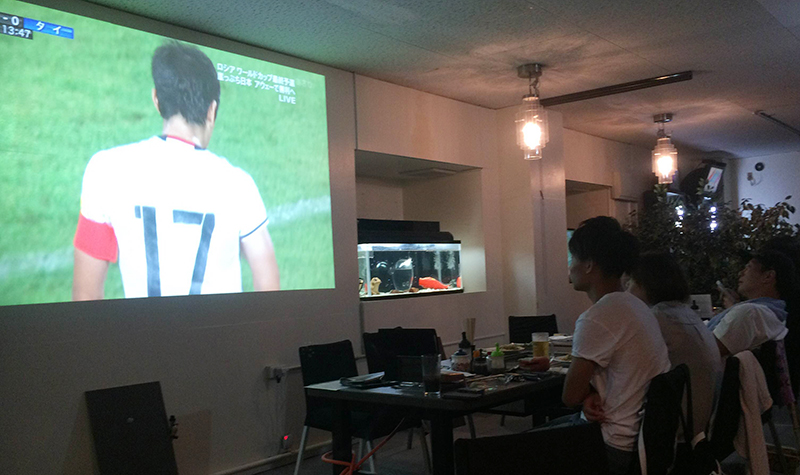 GOALDワールドカップ観戦